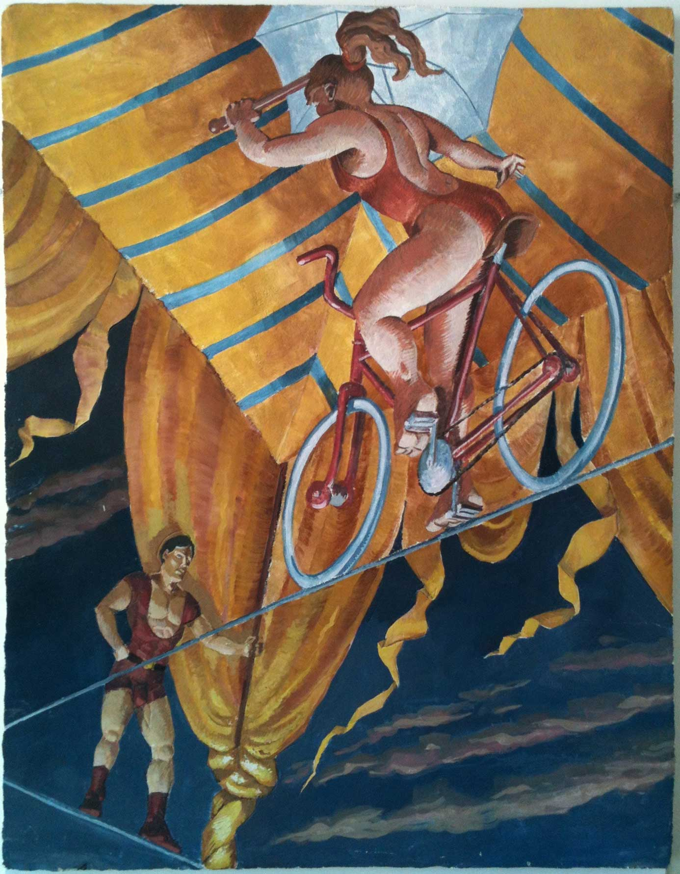 Fresco by Frédéric Lère, 1998